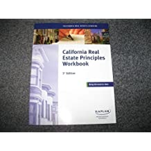 California Real Estate Licensing California Real Estate Principles Workbook 3rd Edition