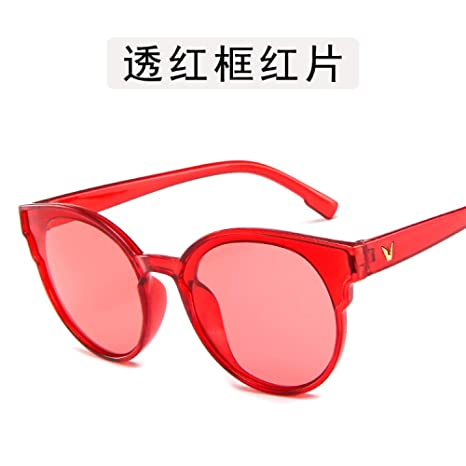 Yangjing-hl Gafas Gafas Gafas de Sol de Personalidad Marco ...
