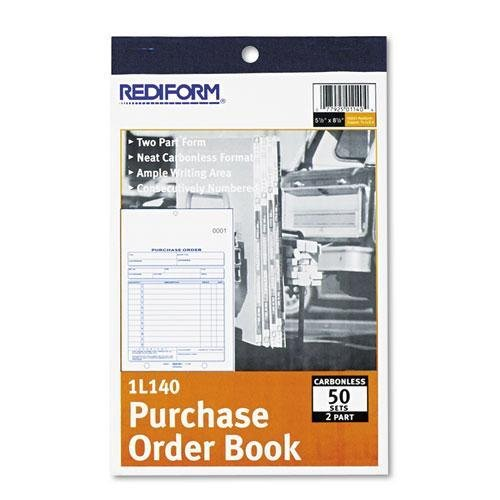 Purchase Order Book, Bottom Punch, 5 1/2 x 7 7/8, Two-Part C
