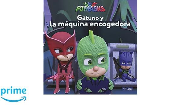 Gatuno y la máquina encogedora PJ Masks. Primeras lecturas: Amazon.es: Varios autores, Adosaguas Sayalero SLU;: Libros