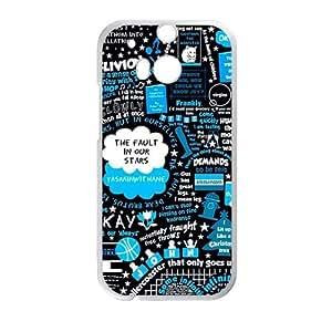 DAZHAHUI Cest la vie simple patten Cell Phone Case for HTC One M8