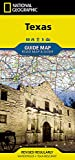 Texas (National Geographic Guide Map)