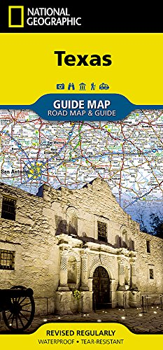 Texas (National Geographic Guide Map) ()