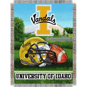NCAA Idaho Vandals Home Field Advantage Woven Tapestry Throw, 48
