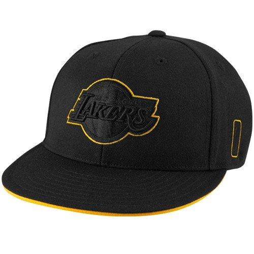 - adidas Los Angeles Lakers Black Tonal 210 Fitted Flex Hat (Small/Medium)