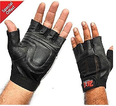 volume grande comprare a buon mercato comprare in vendita 2Fit guanti-Guanti imbottiti per sollevamento pesi in pelle ...