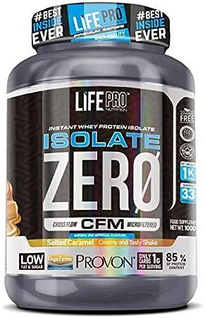 Life Pro Isolate Zero 1Kg   Suplemento Deportivo de Proteína de Suero Aislada, Suplemento Proteísnas para Mejora y Crecimiento del Sistema Muscular, ...