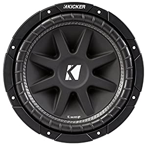 "Kicker 43C104 Comp 10"" 300 Watt SVC 4-ohm Car Audio Subwoofer Woofer Sub C104"