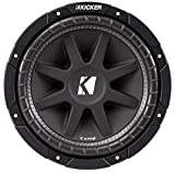 Kicker Comp 43C154 15' 500W Car Subwoofer + Single Vented Sub Box Enclosure