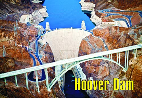 Hoover Dam, Arizona, AZ, Colorado River, United States National Park, Magnet 2 x 3 Fridge Photo Magnet