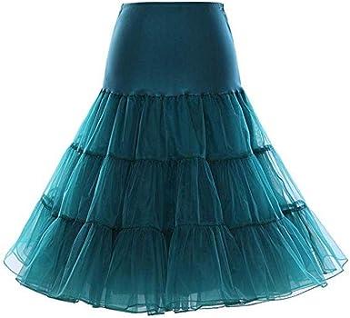 Petticoat - Falda para debajo de la falda, diseño retro vintage de ...