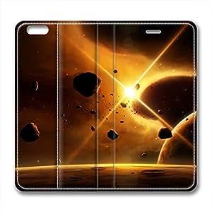 DIY Universe Iphone 6 Leather Case Golden Light