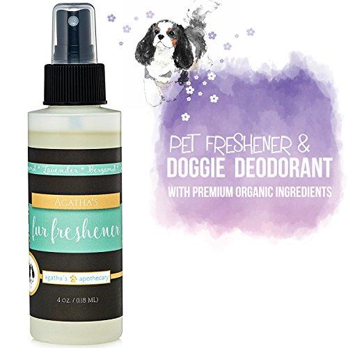Fur Freshener – Pet Perfume – Pet Deodorant – Premium Organic Ingredients – No Toxic Scents – Light & Effective Aroma – 4 oz. (Fur Freshener)
