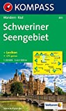 Schweriner Seengebiet: Wanderkarte mit Radrouten und KOMPASS-Lexikon. GPS-genau. 1:50000 (KOMPASS-Wanderkarten, Band 850)