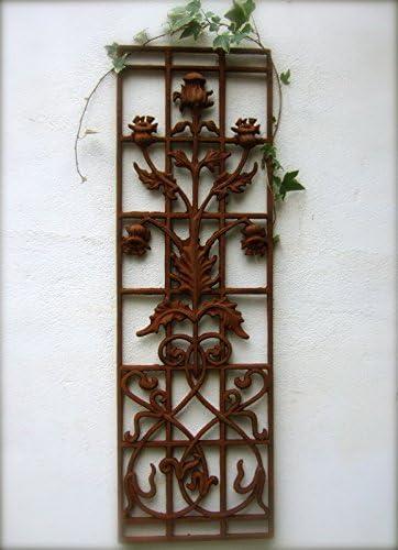 Antikas - Cancela de Hierro Fundido con campánula - decoración ...