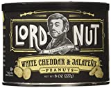 Lord Nut Levington Peanuts, White Cheddar & Jalapeno, 8 Ounce