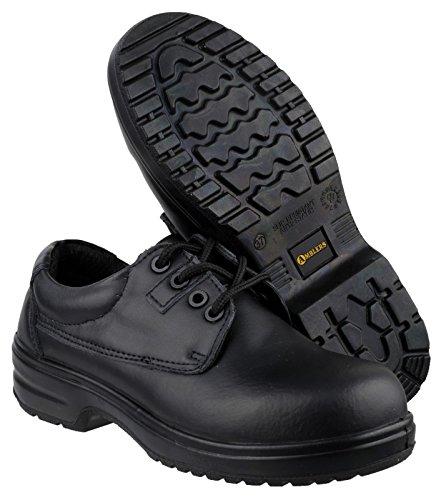 Amblers - Calzado de protección para mujer negro negro, color negro, talla 46