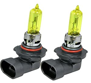 9005 HB3 12V 100W Direct Replacement For Auto Vehicle Car Factory Halogen Light Bulbs [Color: Yellow] by ICBEAMER