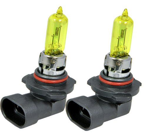 yellow 9005 headlight bulbs - 5