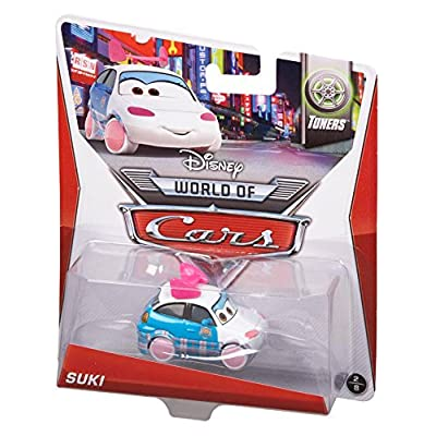 Disney Pixar Cars Suki Diecast Vehicle: Toys & Games