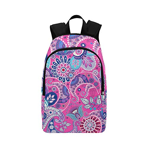 (Brightly Colored Bacteria Casual Daypack Travel Bag College School Backpack for Mens and Women)