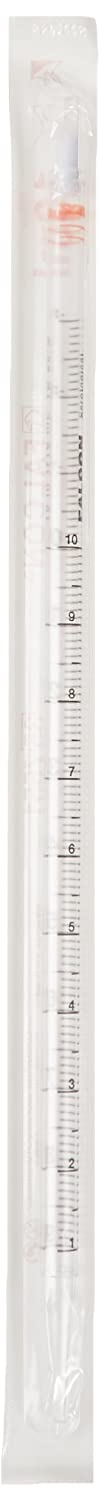 Corning Falcon 357551 Polystyrene Serological Pipet, 10mL Capacity (Case of 200)