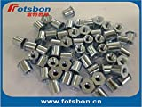 Nuts TSOA-6M25-400 Threaded standoffs for Sheets Thin as 0.25/0.63mm,PEM Standard,AL6061,