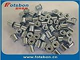 Nuts TSOA-632-625 Threaded standoffs for Sheets Thin as 0.25/0.63mm,PEM Standard,AL6061,