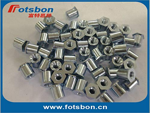 Nuts TSOA-440-750 Threaded standoffs for Sheets Thin as 0.25/0.63mm,PEM Standard,AL6061,