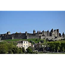 LAMINATED POSTER Fortress Carcasone Medieval France Castle Poster Print 24 x 36