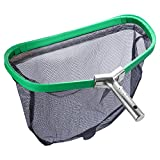 Persevere Durable Pool Leaf Nets, Heavy Duty Pool Leaf Net Regular Bag (Easy Pour Lable) (Green)