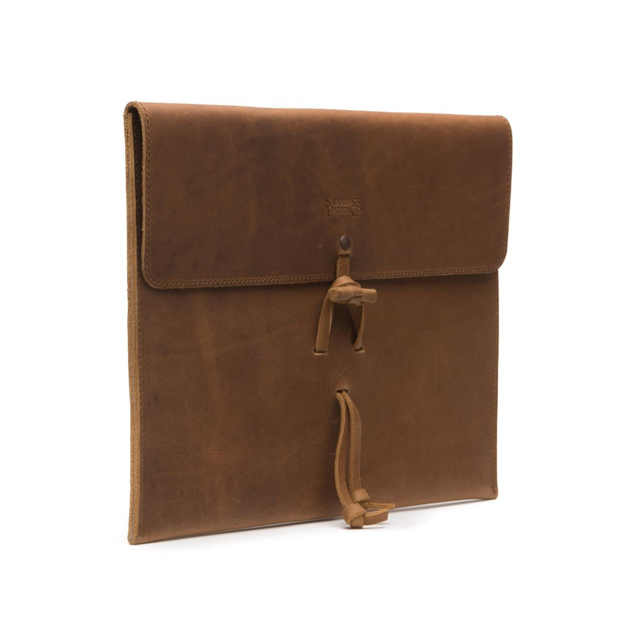 Saddleback Leather Co. Element Resistant Leather Document Protector Organizing Case Includes 100 Year Warranty