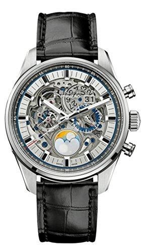 - Zenith Chronomaster El Primero Grande Date Moon Full Open Mens Watch 03.2530.4047/78.C813