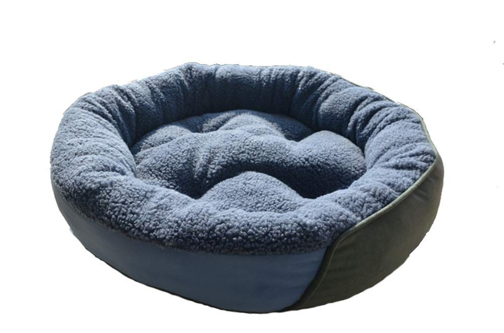 70cm Pet Bed, Durable Round Dog Bed Four Seasons Universal Dog BedUltra Comfort Dogs & Cats Pet Bed