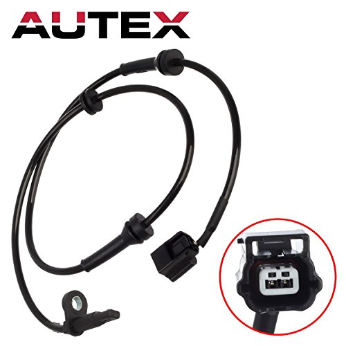 AUTEX 1pc ABS Wheel Speed Sensor Front 47910-1AA0A ALS2500 5S12283 SU13701 479101AA0B 479101AA0A compatible with Nissan Murano 2009 2010 2011 2012 2013 2014 3.5L & Titan 2012 2013 2014 5.6L