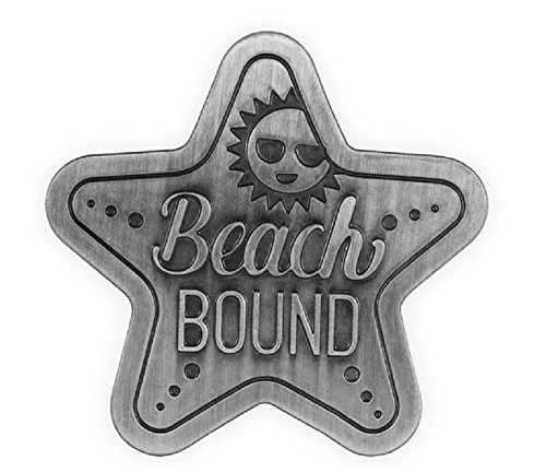Beach Bound Star Fish Visor Clip.
