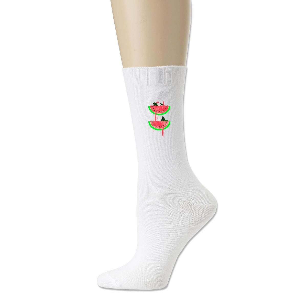 Rigg-socks Watermelon Falls For Men Comfortable Sport Socks Black