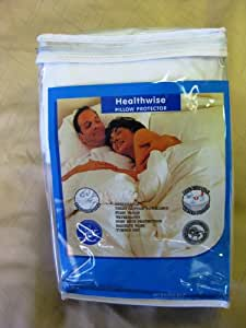Healthwise Hypoallergenic Pillow Protector Standard Size