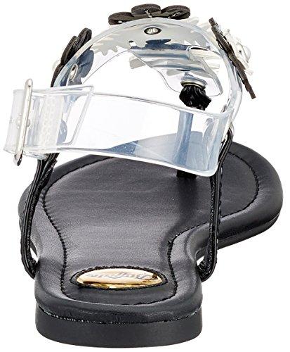 Buffalo Nero Infradito Tpu Donna Patent black966 Pu 1714s07 14 rqRwSr0