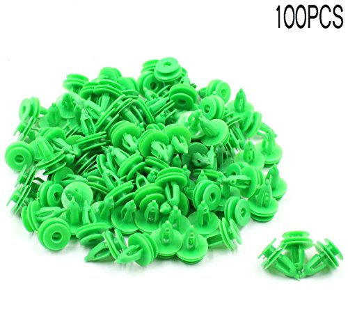 GooDeal 100pcs Door Panel Clip Trim Fastener Clip 6503204 for Jeep WJ Grand Cherokee Chrysler