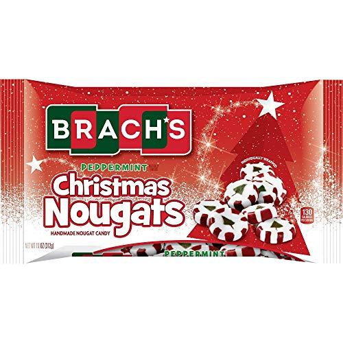 Brach's Peppermint Christmas Nougat - 11 oz (1) (Nougats Christmas)