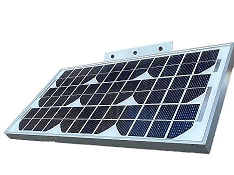 Amazon com : 10W/14V Solar Panel Off Grid for Pure Digital eLEDing