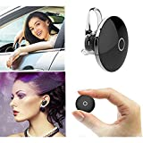 iwish Mini Bluetooth earbuds In Ear Wireless Stereo Bluetooth Headphones,Lightweight Micro Bluetooth Headset with Microphone hands-free Phone Calls in car,working out(Black)