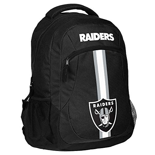 Forever Collectibles NFL Oakland Raiders Action Backpack,, used for sale  Delivered anywhere in USA
