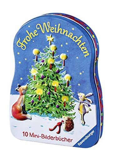 Frohe Weihnachten: 10 Mini-Bilderbücher (Ravensburger Minis)