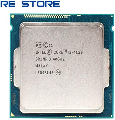 CPUs - used Intel Core i3 4130 3.40GHz 512KB/3MB Socket LGA1150 Haswell CPU Processor SR1NP