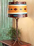 Southwest Iron Braided Table Lamp
