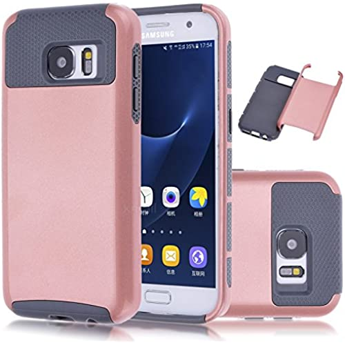 Galaxy S7 Case,Kmall 2in1 Hybrid Heavy Duty Impact Resistant Shock-Absorption Dual Layer Full-Body Shockproof Sales