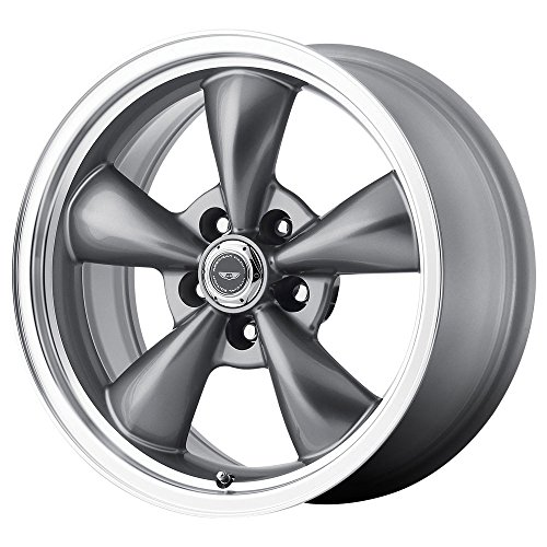 AMERICAN RACING WHEELS Gray 5x4.50 17x8 in Torq-Thrust M Wheel P/N AR105M7865A