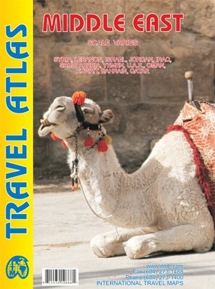 Download Middle East Travel Atlas with city plans ITMB, 2012 edition pdf epub